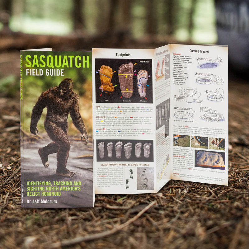 Sasquatch Field Guide by Jeff Meldrum - Sasquatch The Legend