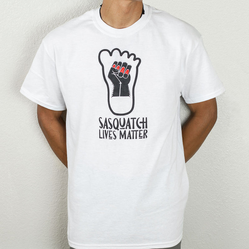 Sasquatch Lives Matter T-Shirt by Thomas Sewid - Sasquatch The Legend