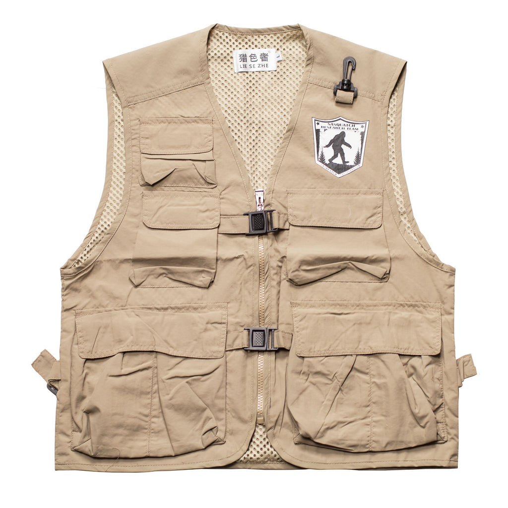 Official Sasquatch Research Team Vest - Sasquatch The Legend