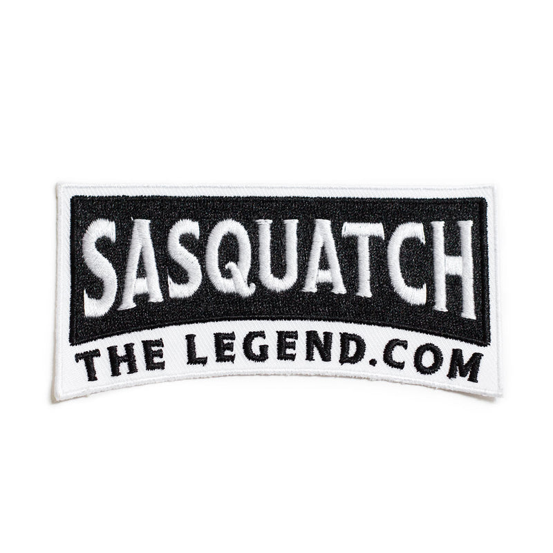 Sasquatch The Legend Embroidered Sew on Patch - Sasquatch The Legend