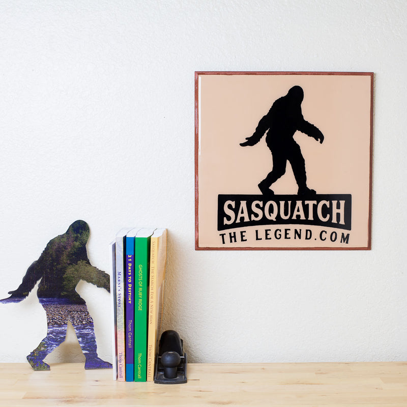 Sasquatch The Legend Wood Plaque - Sasquatch The Legend