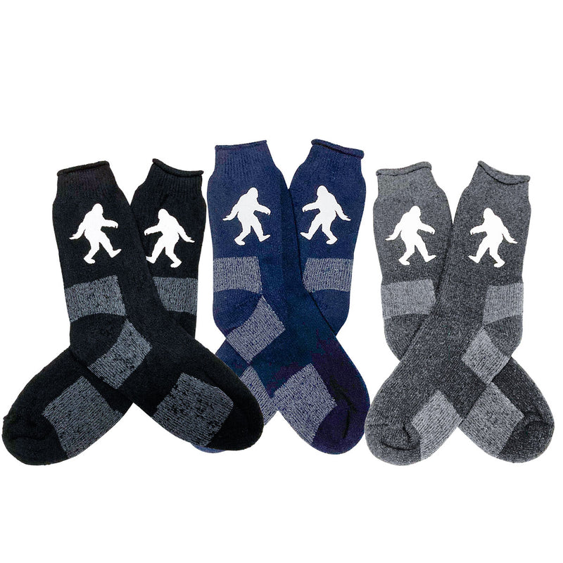 Sasquatch Socks, Thermal Winter Socks - Sasquatch The Legend
