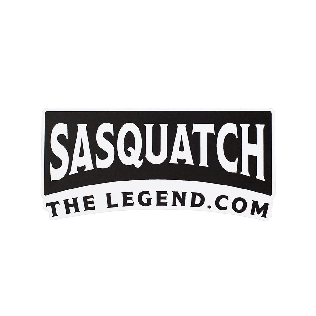 Sasquatch The Legend Sticker - Sasquatch The Legend
