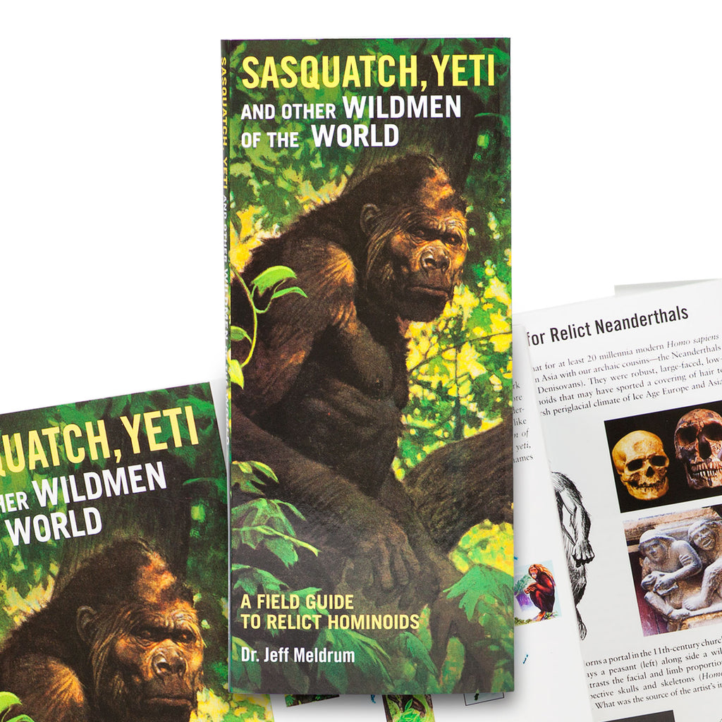 Sasquatch, Yeti and Other Wildmen of the World: A Field Guide - Sasquatch The Legend