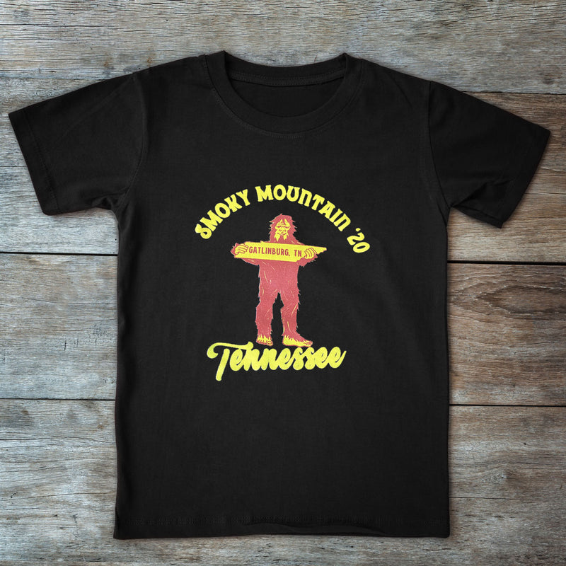 2020 Smoky Mountain Bigfoot T-Shirts - Sasquatch The Legend