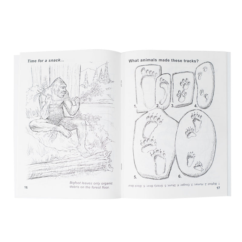 The Bigfoot Discovery Coloring & Activity Book - Sasquatch The Legend
