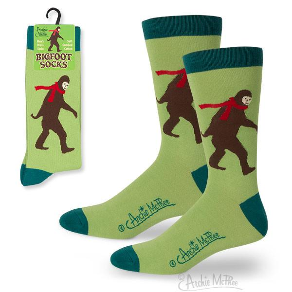 Bigfoot Socks - Sasquatch The Legend