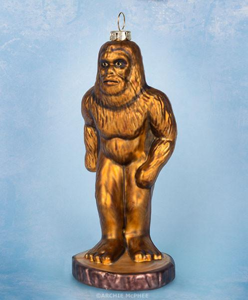 Bigfoot Ornament - Sasquatch The Legend