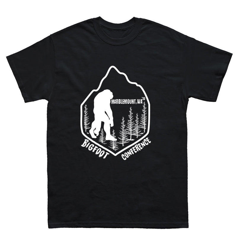 Marblemount WA Bigfoot Conference 2020 T-Shirts - Sasquatch The Legend