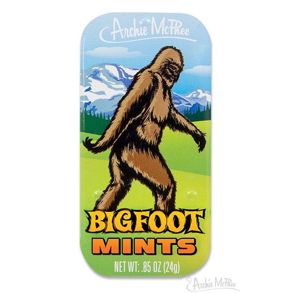 Bigfoot Mints - Sasquatch The Legend