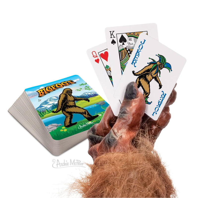 Bigfoot Playing Cards - Sasquatch The Legend