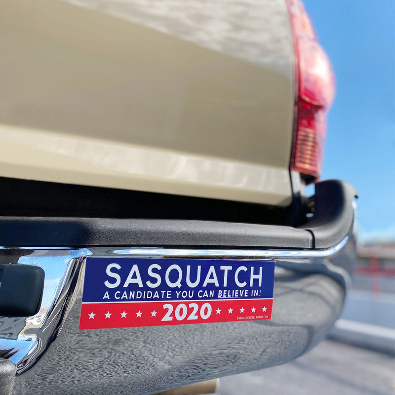 Sasquatch 2020 A Candidate You Can Believe In - Sasquatch The Legend