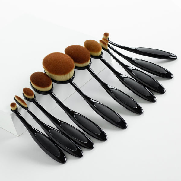 10 Multi-Purpose Make Up Brush Set