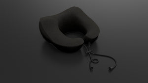 mile high travel pillow - graphite