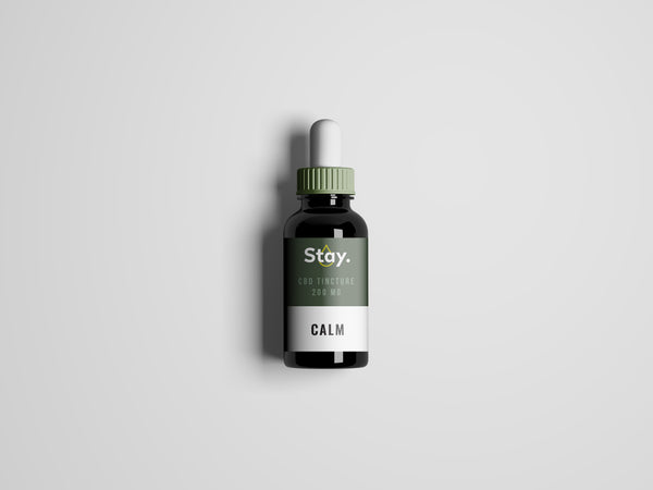 stay calm CBD tincture