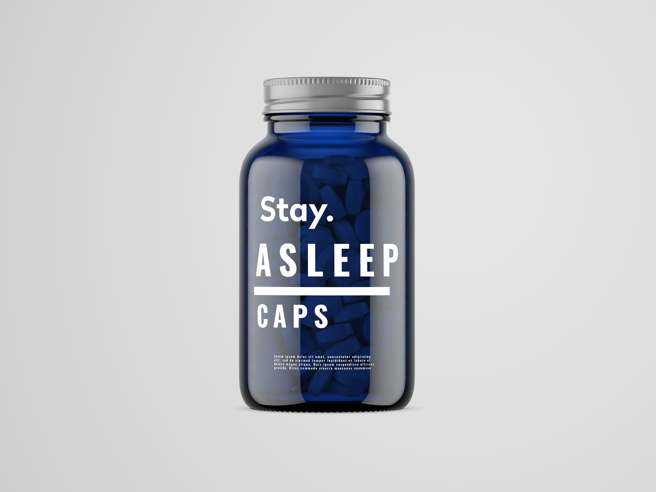 stay asleep caps