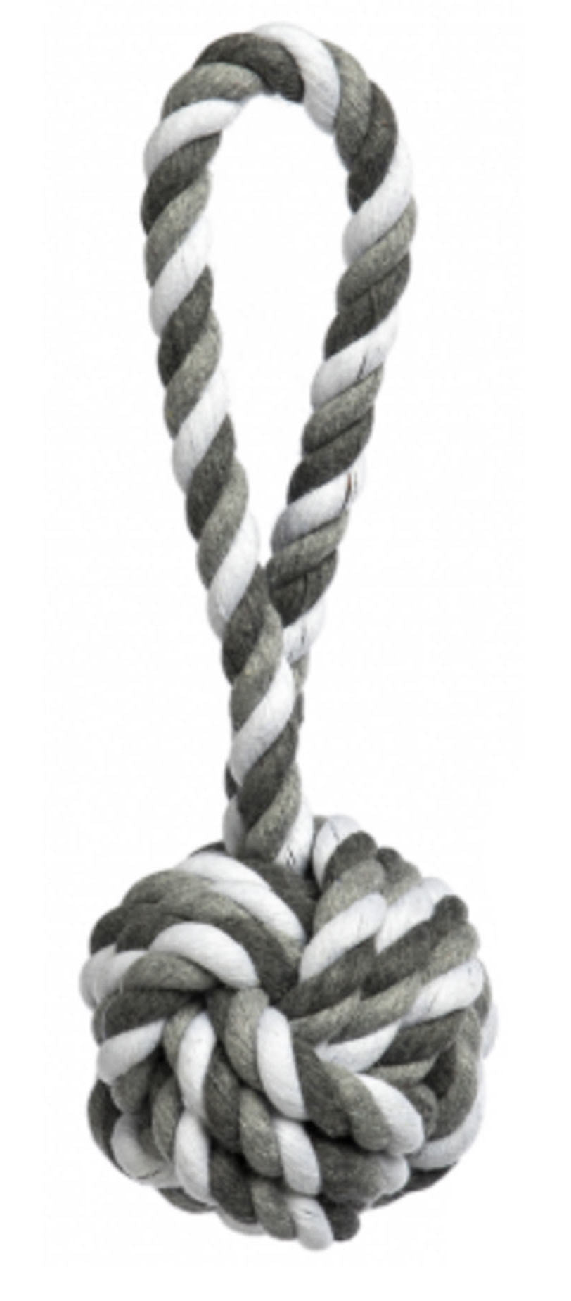 Dog Toy - Celtic Knot Grey Small