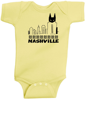 Na-Na-Na-Na Nashville INFANT - Yellow Onesie