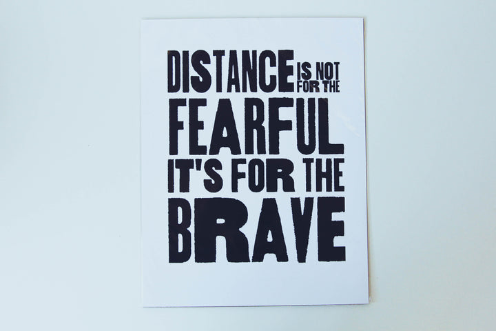 Poster - Distance