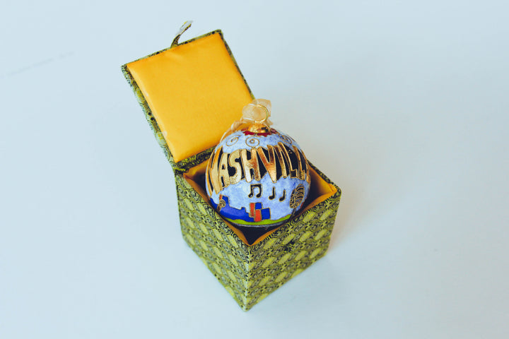 Christmas Ornament - Cloisonne