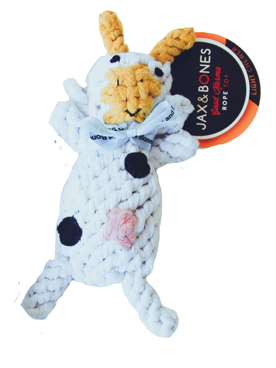 Dog Toy - Claire the Cow Large