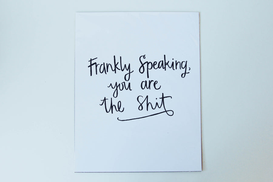 Poster - Frankly Speaking