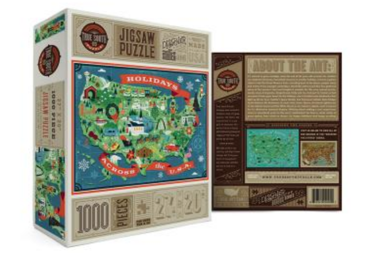 Puzzle - Holidays Across the USA
