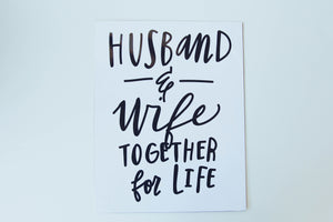 Poster - Husband & Wife