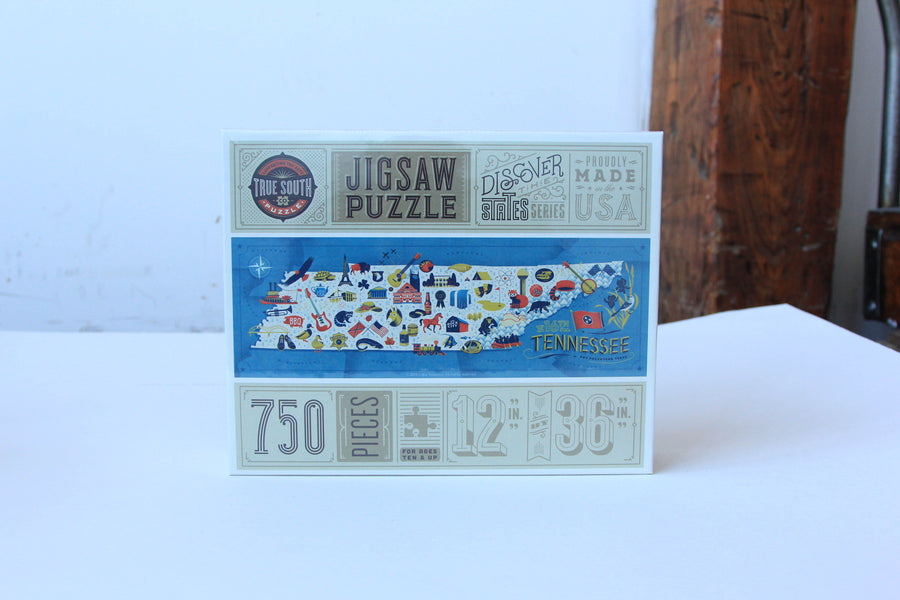 Puzzle - Tennessee Map
