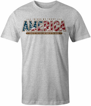 In God We Trust America T-Shirt