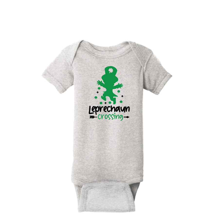 Leprechaun Crossing Onesie