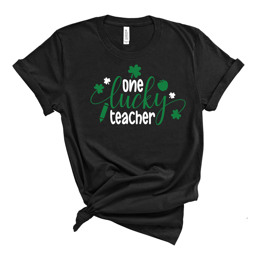 One Lucky Teacher Me T-Shirt