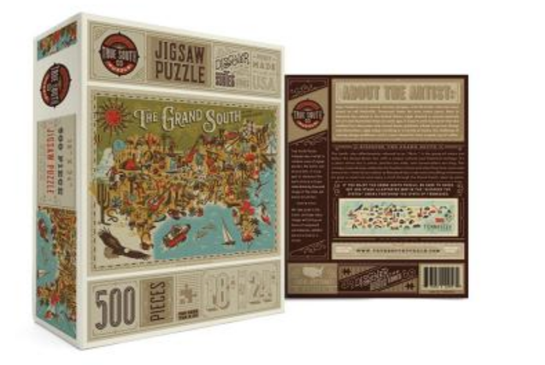 Puzzle - The Grand South