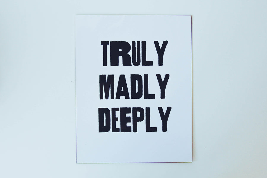 Poster - Truly, Madly, Deeply