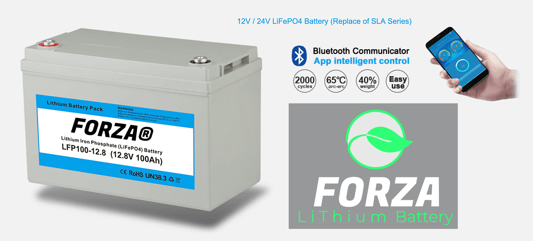 forza lithium battery