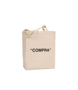 "LYFE ""COMPRA"" TOTE IN NATURAL"
