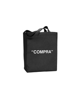"LYFE ""COMPRA"" TOTE IN BLACK"