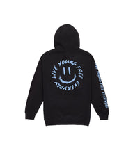 Load image into Gallery viewer, LYFE SMILEY HOODIE IN ICE