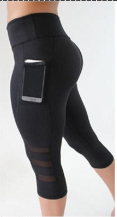 c9bc5a8835a33 Top Selling Anti-Wrinkle With Side Pockets Sports Leggings Mesh Fitness  Yoga Pants