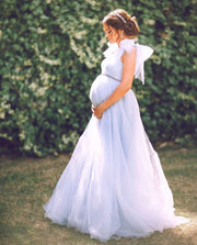 ZOE MATERNITY GOWN - Amelie Baku Couture