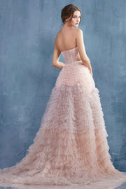 Elegant Evening Dress - Amelie Baku Couture