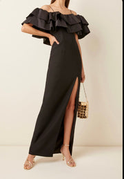 Off the Shoulder Elegant Evening Gown