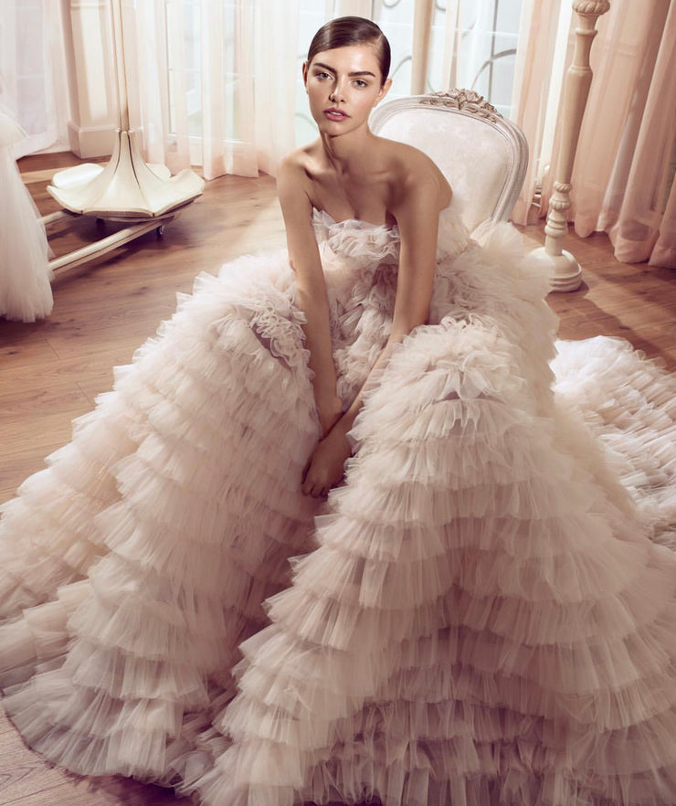 Magical tulle ball gown