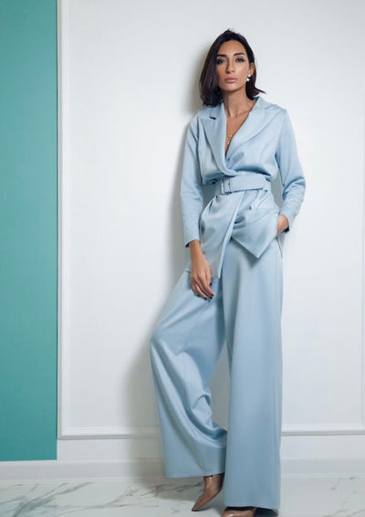 Long sleeve suit with Trousers