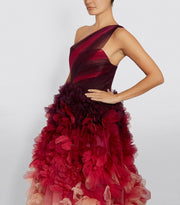 Exquisite with ruffles - Amelie Baku Couture