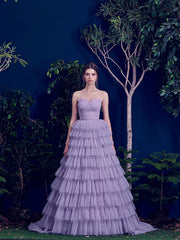 Tulle Gown for special occasion - Amelie Baku Couture