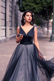 Formal Elegant Evening Dress - Amelie Baku Couture