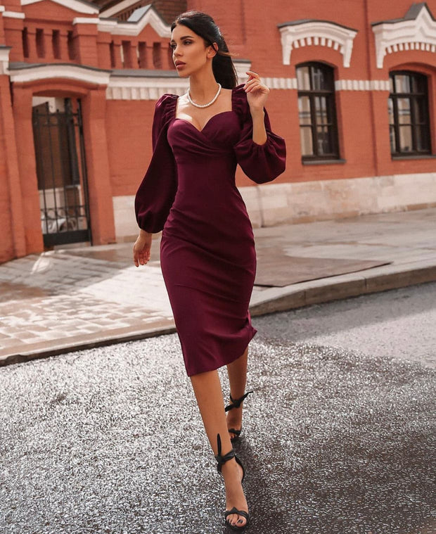 Sangria Dress - Amelie Baku Couture