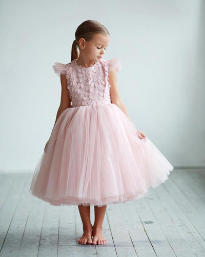 Elegant flower girl dress