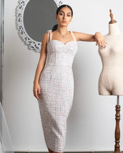 Daisy Tweed dress from Bloom collection - Amelie Baku Couture